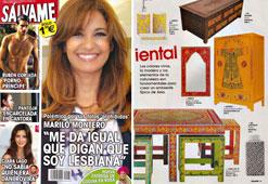 Revista Salvame - Mayo 2015 Portada y P�gina 39