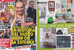 Revista Salvame - Enero 2014 Portada y P�gina 42