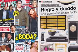 Revista Salvame - Febrero 2014 Portada y P�gina 34