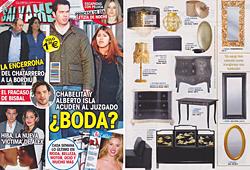 Revista Salvame - Febrero 2014 Portada y P�gina 35