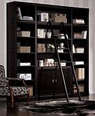 Librería Colonial Biblioteca Grande Negro