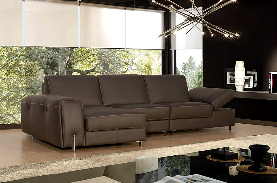 Sof bruma de piel no disponible en for Sofas italianos de piel
