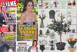 Revista Salvame - Abril 2014 Portada y P�gina 35