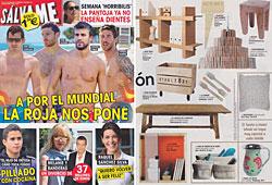 Revista Salvame - Junio 2014 Portada y P�gina 35