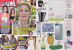 Revista Salvame - Mayo 2014 Portada y P�gina 35