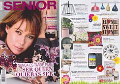 Revista Senda Senior - Abril 2014 Portada y P�gina 23