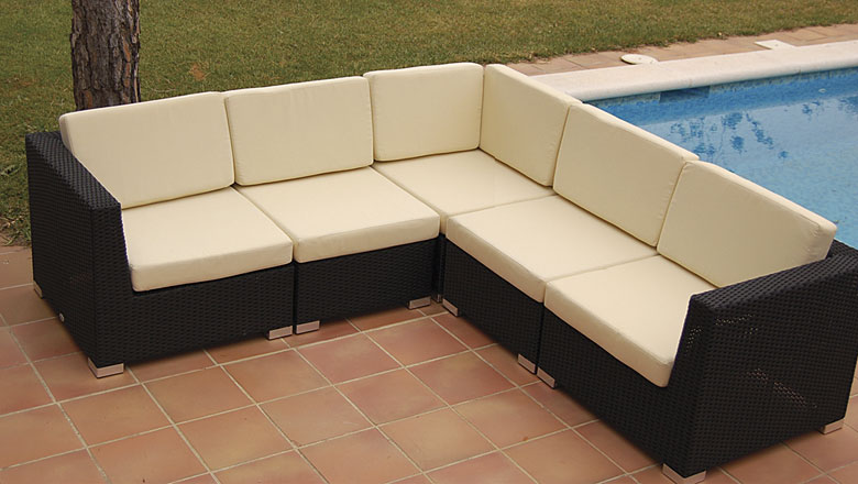 Sof rinconera jamaica de jardin no disponible en for Sofas para jardin
