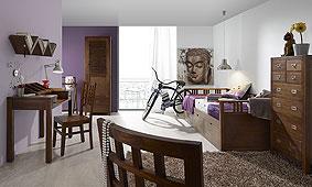 Dormitorio juvenil Colonial Star