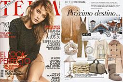 Revista Telva - Enero 2014 Portada y P�gina 126