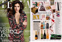 Revista Telva - Diciembre 2014 Portada y P�gina 282