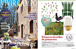 Revista Vivir en el Campo - Mayo 2015 Portada y P�gina 11