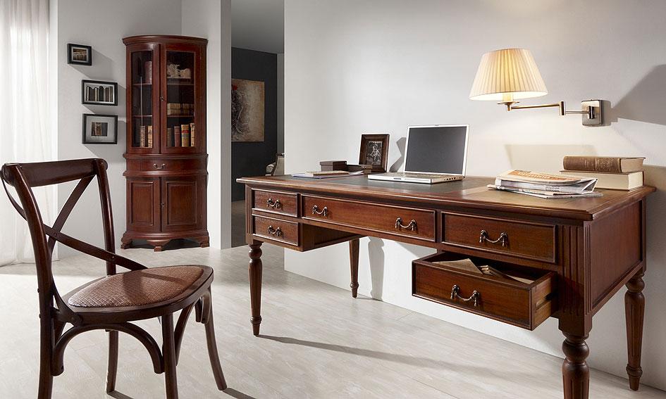 Mesa de escritorio victoriano no disponible en - Mesa escritorio clasica ...