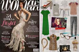 Revista Woman - Diciembre 2014 Portada y P�gina 59