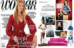 Revista Woman Madame - Mayo 2016 Portada y P�gina 84