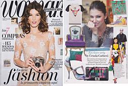 Revista Woman Madame - Marzo 2014 Portada y P�gina 24