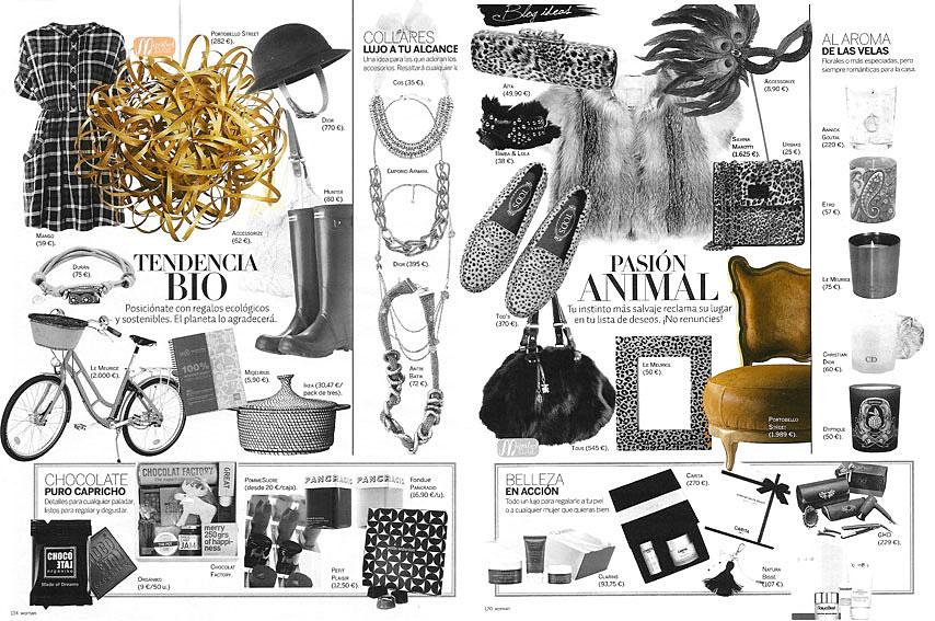 Revista Woman  - Diciembre 2010 - P�ginas 120 y 134