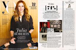 Revista Yo Dona - Febrero 2015 Portada y P�gina 17