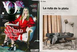 Revista Yo Dona - Diciembre 2014 Portada y P�gina 2