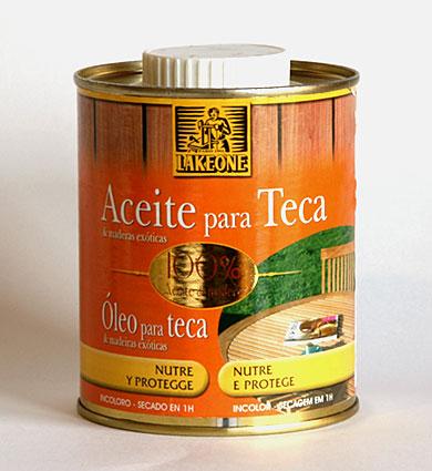 Aceite para muebles de teca y maderas ex ticas 500ml no - Aceite de linaza para madera ...