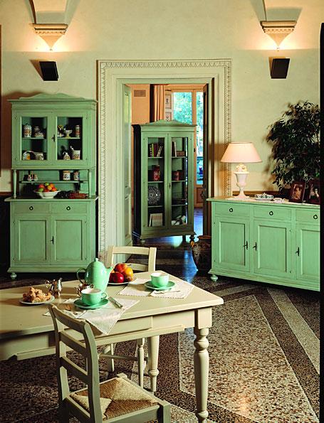 Alacena vintage chievo en for Decoracion muebles vintage