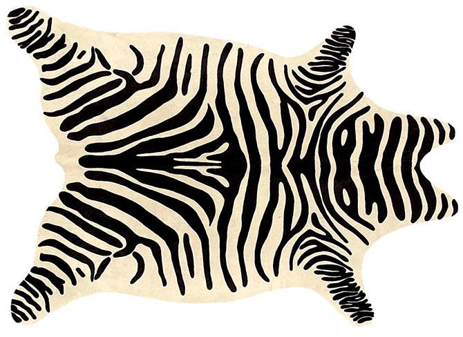 Alfombra piel zebra no disponible en for Decoracion cebra