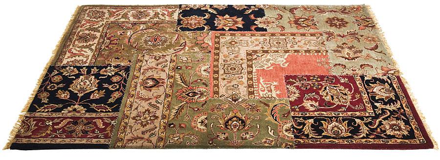 Alfombra persa patchwork en for Todo alfombras