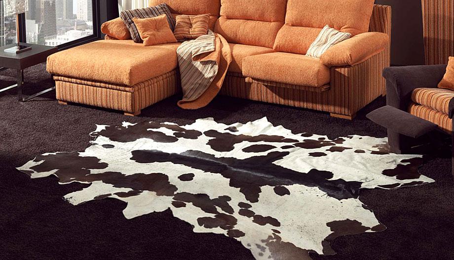 Alfombra piel vaca salvaje no disponible en for Precio de las alfombras persas