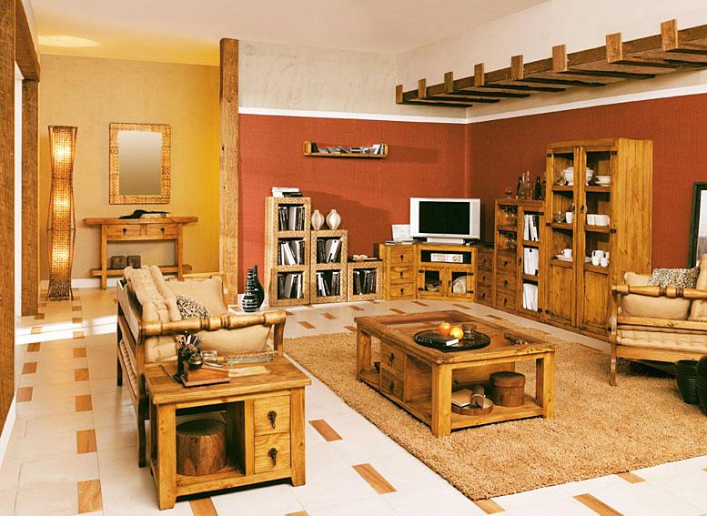 Sal n r stico venecia no disponible en - Colores para pintar un salon rustico ...