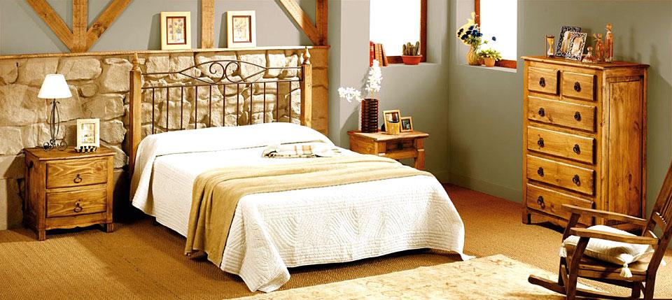 Dormitorio r stico bombay no disponible en - Muebles bombay ...