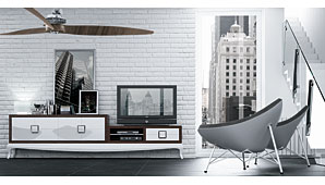 Mueble Tv New Bauhaus