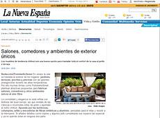 Ambientes de exterior con Portobello en lne.es - Mayo 2014