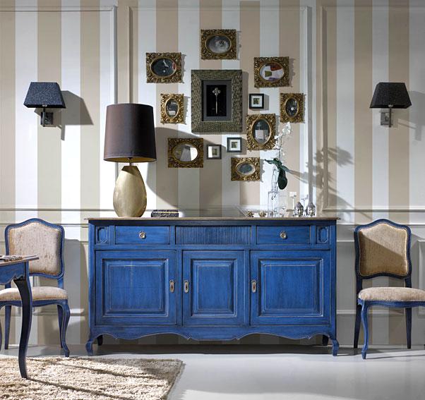 Aparador 3 puertas vintage provenzal no disponible en for Decoracion muebles vintage