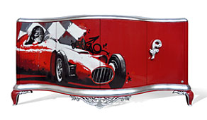 Aparador Vintage Capri Ferrari