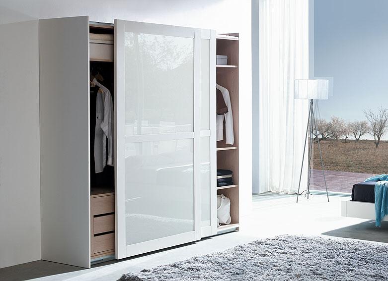 Armario cristal ptas correderas bianco no disponible en - Fotos armarios empotrados puertas correderas ...