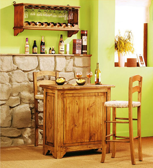 Mueble bar r stico copero no disponible en for Mueble bar rustico