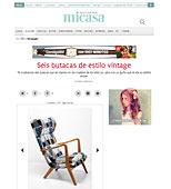 Butacas vintage con Portobello en micasarevista.com - Mayo 2014