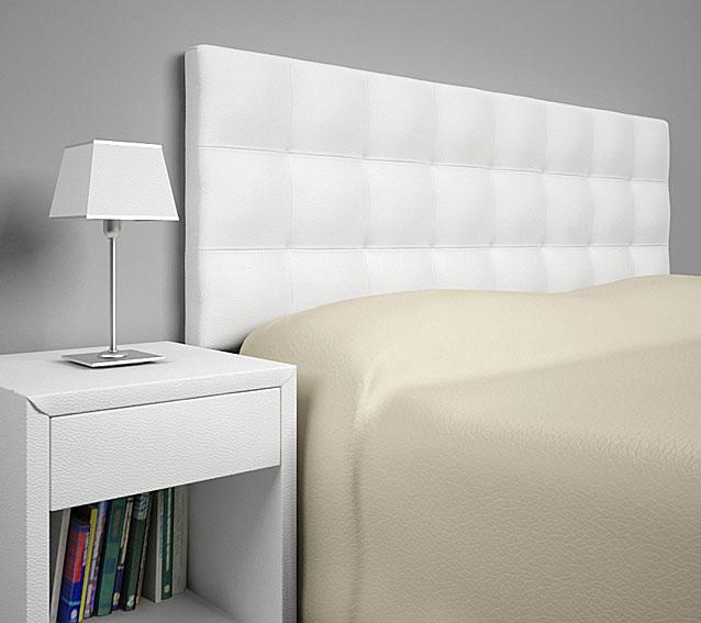 Cabecero ohio de colgar blanco cama 180 cms no disponible - Cabecero cama 180 ...