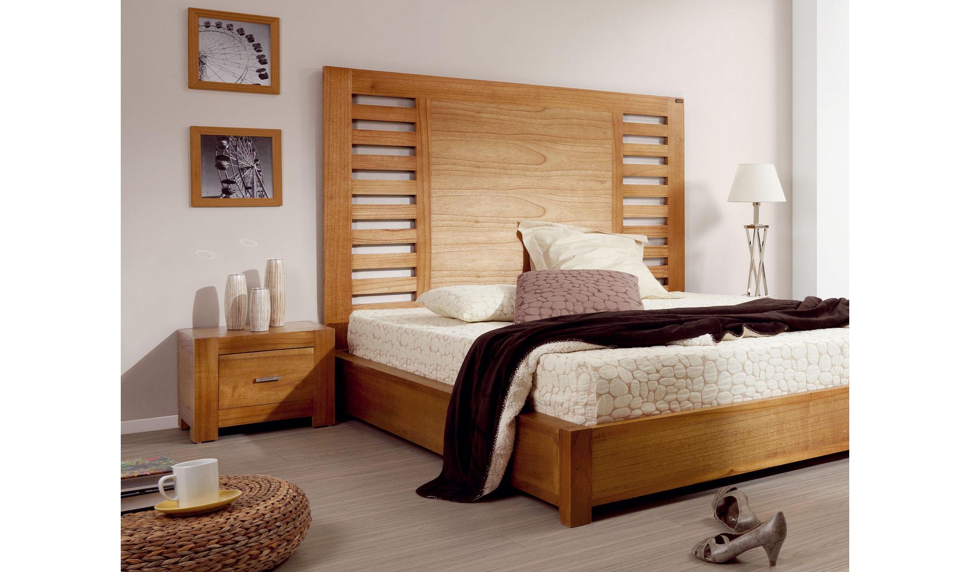 muebles cosas de arquitectos cabecero barrotes colonial natural cabeceros y camas de madera