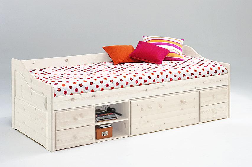 cama nido infantil melanie con 5 cajones 1 estante no. Black Bedroom Furniture Sets. Home Design Ideas