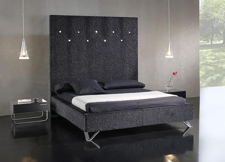 Cama saba en - Cabeceros de cama tapizados en piel ...