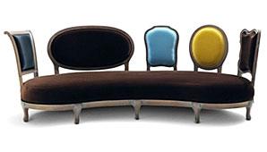 Sofa Chaise-Longue Scubism