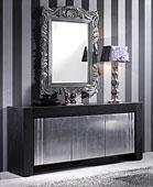 Aparador 3 puertas Vintage Black Silver