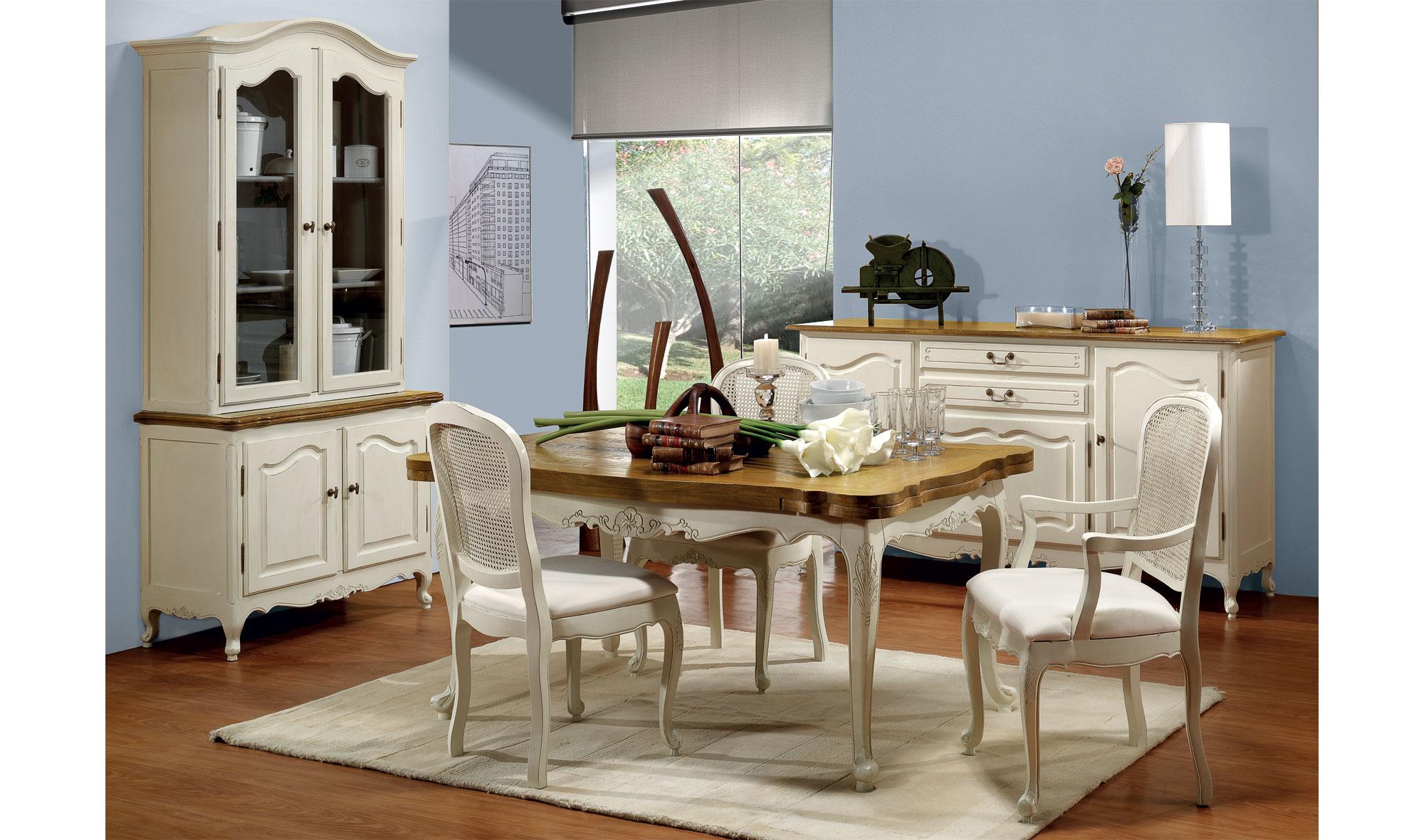 Comedor vintage nantes iv de lujo en - Colores vintage para muebles ...