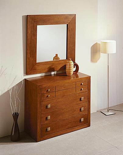 C moda y espejo sunkai no disponible en for Comodas modernas para dormitorio