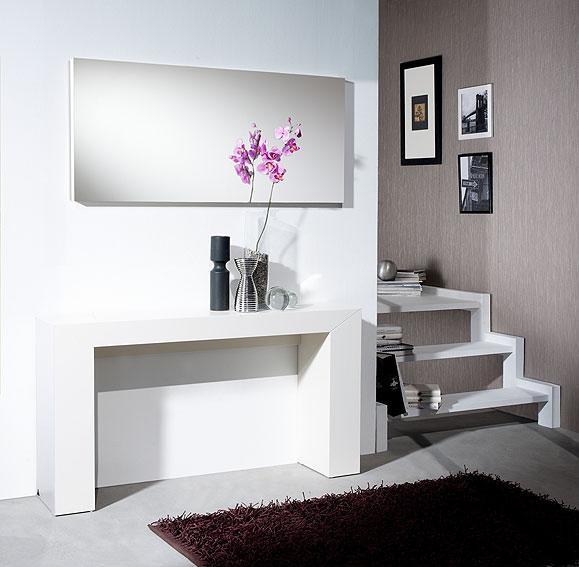 Consola y espejo nova no disponible en for Muebles para casas modernas