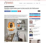 Detalles especiales para la decoraci�n de halloween con Portobello - Octubre 2015