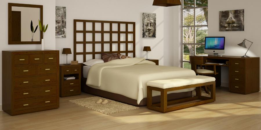 Dormitorio manhattan en for Butacas coloniales