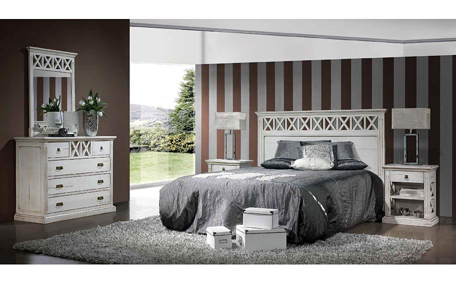 Dormitorio vintage provenzal iv en - Dormitorio estilo vintage ...