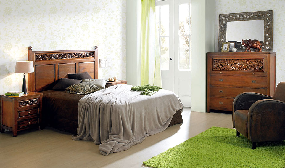 Dormitorio Calado Caoba no disponible en Portobellostreet.es