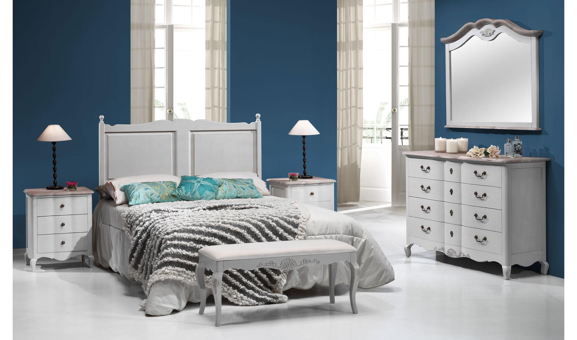 Dormitorio vintage avignon en - Dormitorios vintage blanco ...